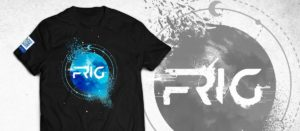 Announcing FRIG MERCH. Get your T-shirt now!